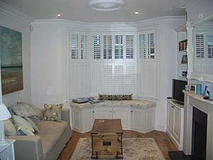 House painting - Newly painted & decorated Lounge house interior in Earlsfield London SW18